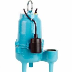 ES50W1-20 Automatic Sump/Effluent/Sewage Pump w/ Wide Angle Float Switch and 20' cord, 1/2 HP, 115V