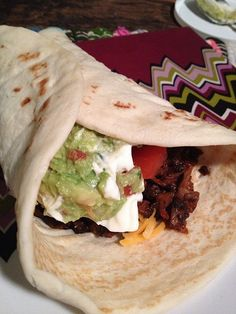 portobello mushroom tacos ... gonna try this next week, I don't like mushrooms but it's worth a try! :)