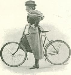 digital history project: Bicycling for Women in the 1890s Bloomer Clothing
