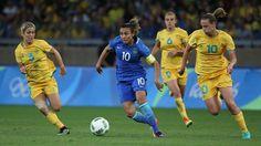 No sufoco! Brasil se vinga da Austrália e vai à semi no futebol feminino
