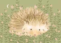 Oopsy Daisy Holly the Hedgehog Canvas Art