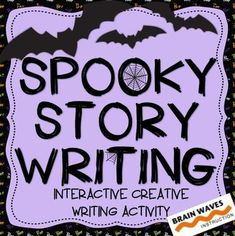Spooky Story Writing - Creative Writing Activity from Brain Waves Instruction on TeachersNotebook.com - (11 pages) - Your students will love this fun and engaging creative writing activity that will have them rolling story element dice to create a spooky story.