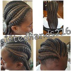 Top 100 cornrow hairstyles photos Waist length #ghanabraids #ghanacornrows #feederbraids #feedercornrows #braids #ibraids #cornrows #cornrowbraids #cornrowhairstyles #protectivestyles #harlem125hair #ashburyfinest #clevelandbraider #floridabraider #jacksonvilleflbraiders  S/O to Dia See more http://wumann.com/top-100-cornrow-hairstyles-photos/