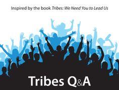 Her kan du finde et link til Seth Godins hjemmeside og en gratis E-bog, hvor han selv svarer på alverdens spørgsmål relateret til Tribes.