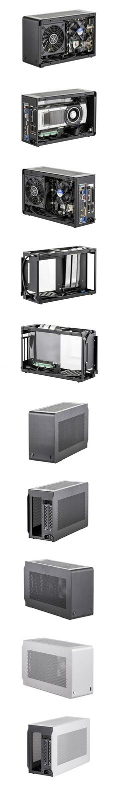 DAN Cases A4-SFX - The World's Smallest Gaming Tower Case