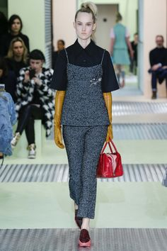 All the runway looks from Prada: Milan Ready-to-Wear Autumn/Winter 2015/16