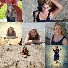 Beach senior pictures!