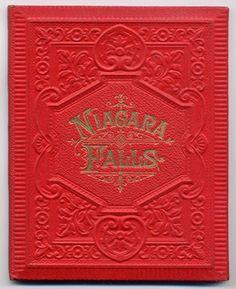 niagara falls souvenir book 1880s