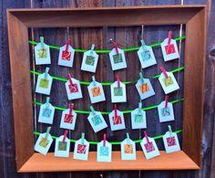 An easy, no-frills Advent calendar