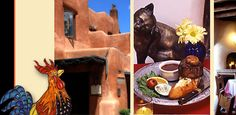 The Pink Adobe. 406 Old Santa Fe Trail. Santa Fe, New Mexico. An experience. Beautiful food in an equally beautiful setting.