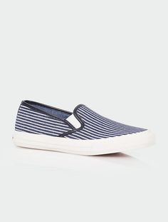 Talbots - Liv Shadow Stripe Slip-On Sneakers | Sneakers |