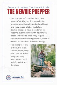 Not all preppers are created equal and it's best to steer clear of preppers who will harm rather than help you. It is always good to know the warning signs so you can spot the preppers you should avoid from a mile away. Check out our list of the types of preppers you should avoid when SHTF… trust us, it's for your own good. #prepper #survivalist #survival #preparedness #gunassociation Bug Out Location, Under Pressure, Warning Signs, Shtf, Survival Skills, It Hurts, Trust, Knowledge, Things To Come