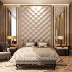 50 Luxury Bedroom Design Ideas that you Definitely want for your Dream Home - Bedroom Decoration - Luxury Bedroom Furniture, Luxury Bedroom Design, Luxury Rooms, Master Bedroom Design, Luxurious Bedrooms, Home Bedroom, Furniture Design, Bedroom Decor, Interior Design