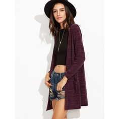 Abercrombie & Fitch Fleece Cocoon Cardigan ($14) ❤ liked on ...