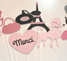 Paris banner, Eiffel Tower, Paris party ideas, Paris sign, Paris photo booth props