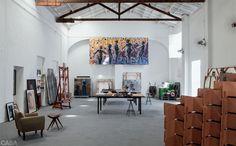Galpão antigo em Fortaleza vira ateliê e casa de um pintor http://casa.abril.com.br/materia/galpao-antigo-em-fortaleza-vira-atelie-e-casa-de-um-pintor