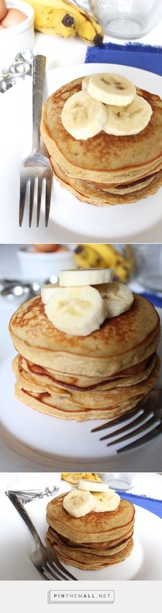 Peanut Butter Banana Coconut Flour Pancakes - pumpkinandpeanutbutter - created via http://pinthemall.net