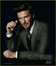 David Beckham dapper and very handsome in this suit. Sharp Dressed Man, Well Dressed Men, Gorgeous Men, Beautiful People, Style Gentleman, Dapper Gentleman, Dapper Men, Fashion Moda, Mens Fashion
