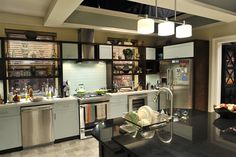 This is the kitchen from the good wife which I said I liked.