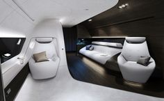 Mercedes-Benz Style Partners With Lufthansa to Create VIP Aircraft Cabins