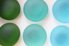#Gifts #gift under $20 #Glass Gem Magnets   Ocean Deep  FREE SHIPPING by TheRubbishRevival, $18.00