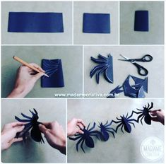 Best DIY Halloween Decorations for this halloween. We gathered up Over 90 of the BEST Homemade Halloween Decorations to share with you. Halloween Theme Birthday, Halloween Themes, Halloween Activities, Spider Man Birthday, Spiderman Birthday Ideas, Spiderman Craft, Spider Man Party, 4th Birthday, Deco Haloween