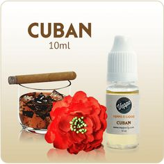 Cuban Flavor E-Liquid Nicotine - 10ml