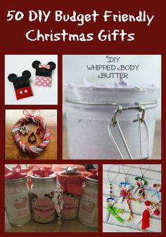 50 DIY Budget Friendly Christmas Gifts