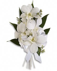 Graceful Orchids Corsage Corsage
