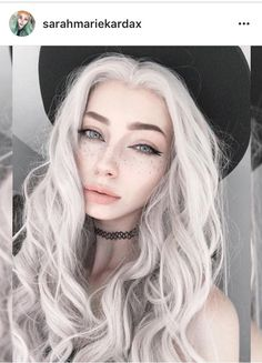 Sarah Marie Karda - Inspiration for Wilten in Dark Heart of the Assassin by Jayla Jasso Hair Inspo, Hair Inspiration, Pelo Color Gris, Aesthetic Makeup, Witch Aesthetic, Tumblr Girls, Pretty Face, Cute Hairstyles, Pretty People