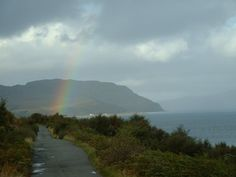 From my archives ~ on the Isle of Skye October 2003 with a point & shoot :) Rainbow Photography, Over The Rainbow, Rainbows, Wales, Scotland, Ireland, October, Around The Worlds, Country Roads
