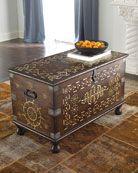 """Talin"" Storage Trunk Table"