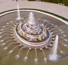 Versailles, Goals, Fuentes De Agua, France, Lawn And Garden