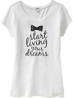 Women's Rhinestone Graphic Tees | Old Navy - $16.94- cute tee to go under sweaters or a jacket