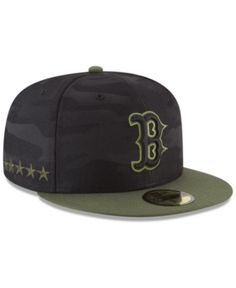 ec0760d7d55a7 New Era Boston Red Sox Memorial Day 59FIFTY Fitted Cap - Green 7
