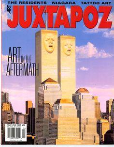Cover of 1 year anniversary of Juxtapoz Magazine