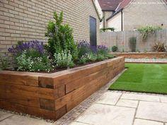 90 beautiful side yard garden decor ideas (35) FRONT YARD