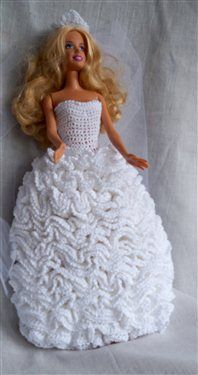 Barbie Bridal Gown - Crochet Me