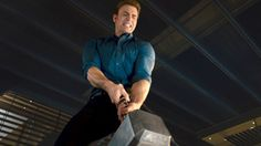 """THE AVENGERS 2 Age of Ultron  Movie Clip """"Lifting Thor's Hammer"""" So excited for this movie!!!!"""