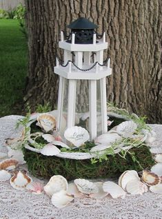 Wedding Centerpieces Lighthouse Ideal For Wedding Reception Table  Centerpiecesu2026
