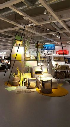 Design District 2019 – the best design trade in the Netherlands – is right b… - Home & DIY Ikea Showroom, Showroom Interior Design, Furniture Showroom, Ikea Furniture, Furniture Makeover, Furniture Design, Visual Merchandising, Display Design, Booth Design