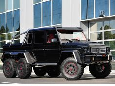 Mercedes-Benz G63 AMG 6×6  by #BRABUS (B63S-700) #mbhess #mbcars #mbtuning