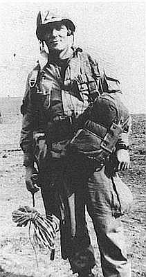 Richard D. Winters at Toccoa Training Camp Georgia in 1942.