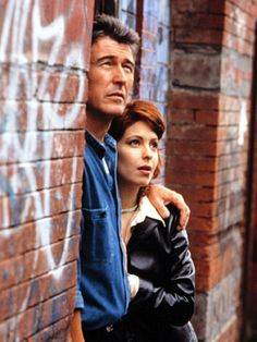 Loving and The City Alex and Jocelyn. Soap Opera...Lisa LoCicero and Randolph Mantooth