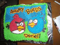 Angry Birds Cupcakes cake