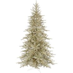 7.5' Platinum Christmas Tree (€545) ❤ liked on Polyvore featuring home, home decor, holiday decorations, christmas, backgrounds, christmas trees, decor, christmas holiday decorations, christmas holiday decor and christmas home decor