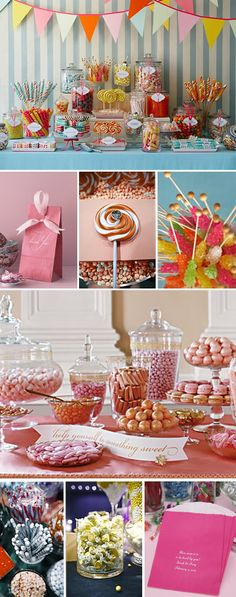 Candy Buffet Inspiration Board