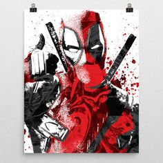 Deadpool poster. Deadpool is a fictional antihero appearing in American comic books published by Marvel Comics. Deadpool was depicted as a supervillain when he made his first appearance in The New Mut
