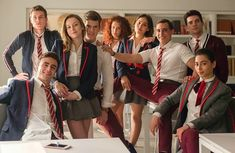 Elite_ New TV series on Netflix: the most popular Spanish Teen Crime Drama of the moment Netflix Cast, Films Netflix, New Netflix, Shows On Netflix, Baby Netflix, Series Movies, Movies And Tv Shows, Tv Series, Movies Showing
