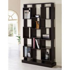 McHugh Espresso Finish Bookcase
